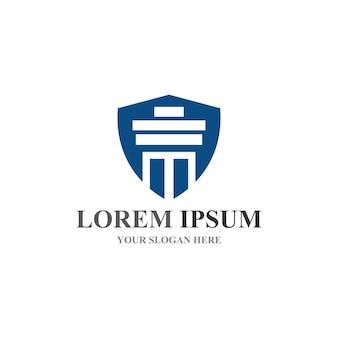 Kolom logo en symbool vector sjabloon