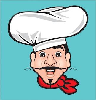 Komische chef-kok