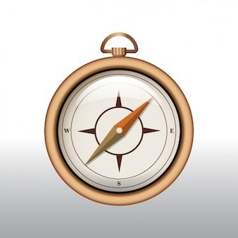 Kompas achtergrond ontwerp
