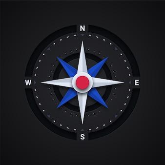 Kompas illustratie
