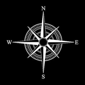 Kompas pictogram.
