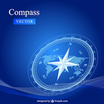 Kompas vector gratis