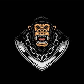 Kong illustratie ontwerp