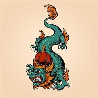 Koning draak