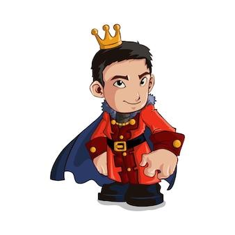 Koning karakter