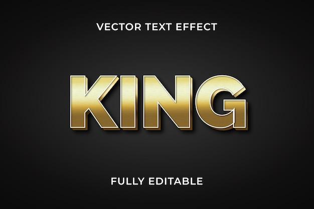 Koning teksteffect