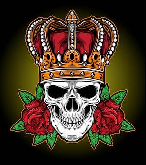 Koningen kroon vector