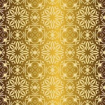 Koninklijk behang naadloos bloemenpatroon, luxeachtergrond