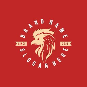 Koninklijk paard logo sjabloon