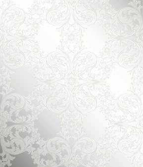 Koninklijk victorian patroonornament.