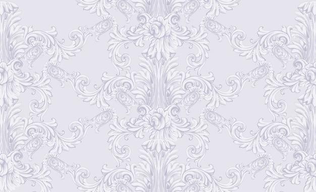 Koninklijk victorian patroonornament