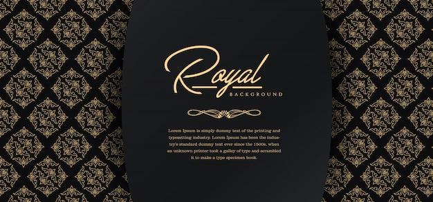 Koninklijke gouden achtergrond