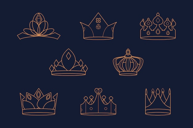 Koninklijke kronen ingesteld
