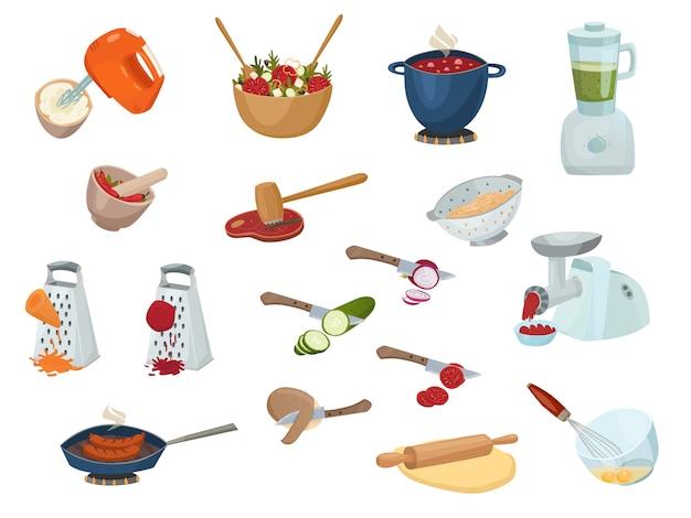 Kookproces instellen