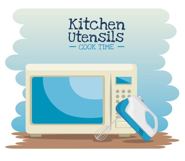 Kooktijd concept
