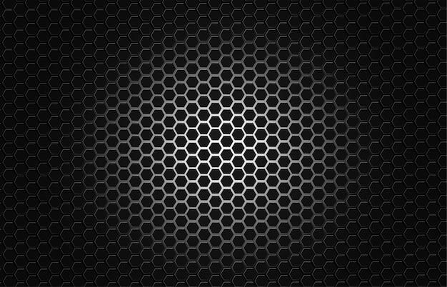 Koolstofvezel textuur achtergrond premium vector