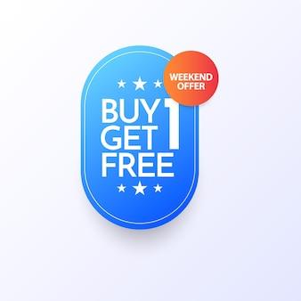 Koop 1 krijg 1 gratis premium sjabloon