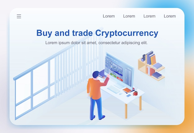 Koop en ruil cryptocurrency