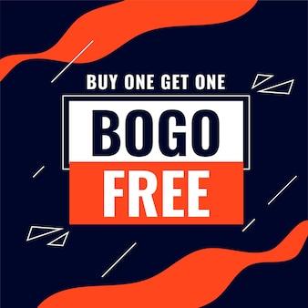 Koop er één en ontvang één bogo-verkoopsamenvatting