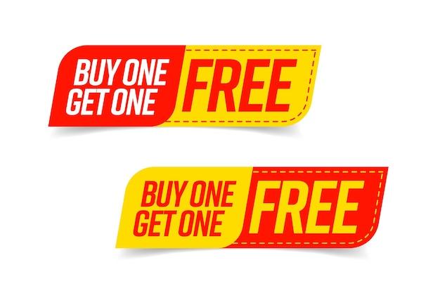 Koop er een en ontvang een gratis set van bogo-sjablonen.