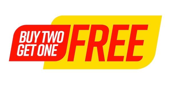 Koop er twee en ontvang een gratis bogo-sjabloonvoucher of couponset.