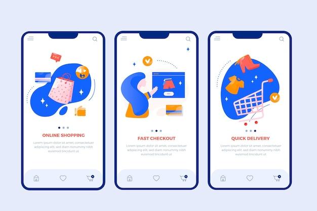 Koop online conceptinterface