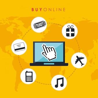 Koop online ontwerp