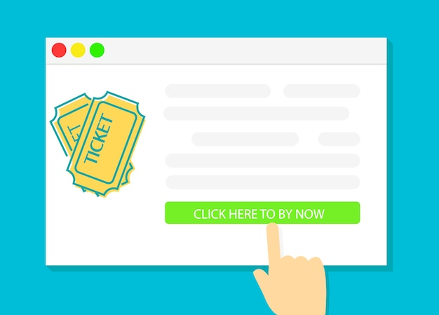 Koop online tickets