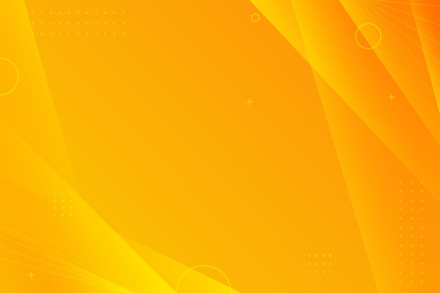 Kopieer ruimte gradiënt gele achtergrond