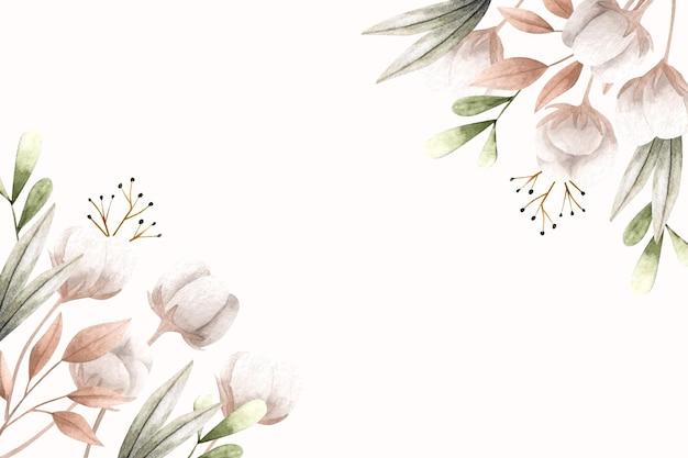 Kopieer ruimte lente achtergrond