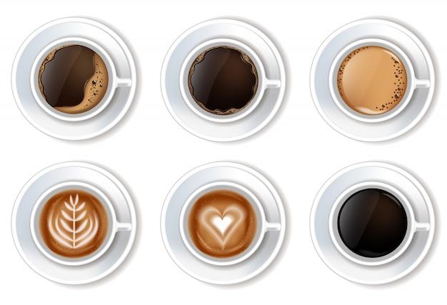 Kopjes koffie gezet