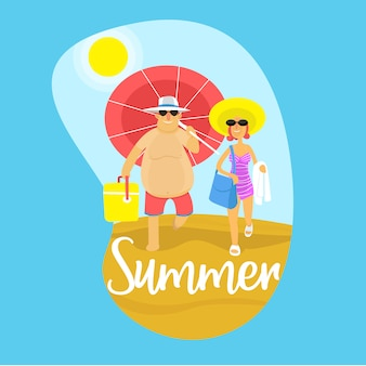 Koppel zomer