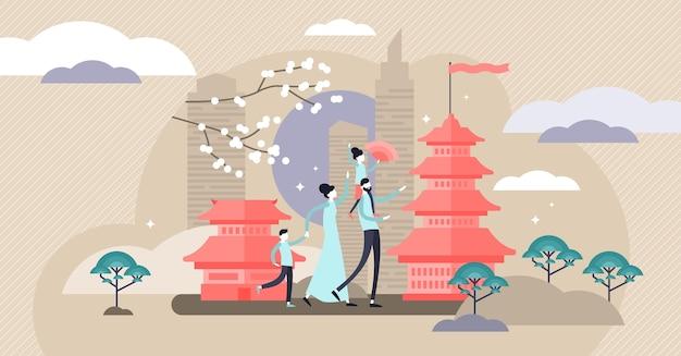 Korea illustratie.