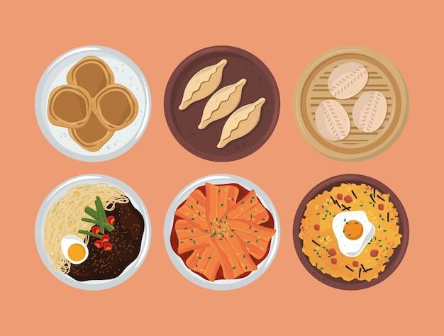 Koreaans traditioneel eten
