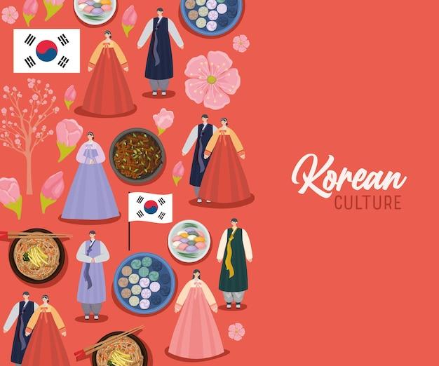 Koreaanse cultuurkaart