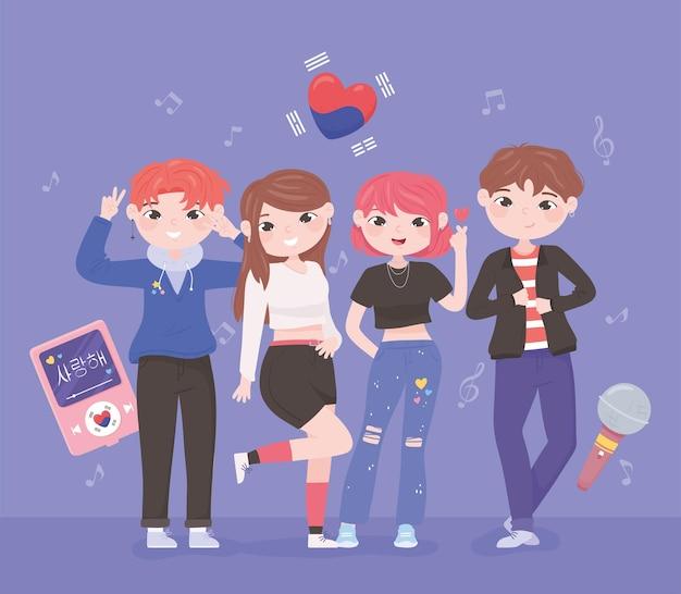 Koreaanse idolen kpop