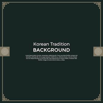 Koreaanse traditionele nieuwe jaarachtergrond