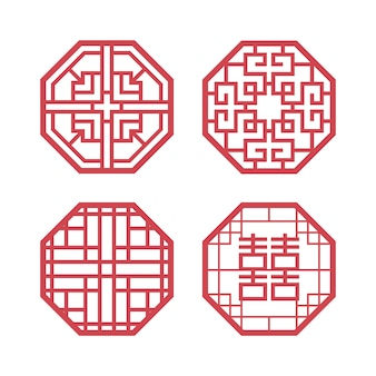 Koreaanse traditionele ontwerpelementen