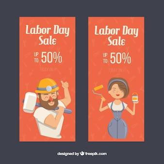 Kortingen voor dag van de arbeid