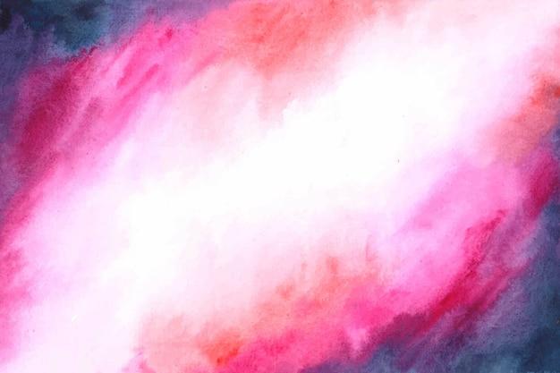 Kosmische nevel abstracte aquarel achtergrond