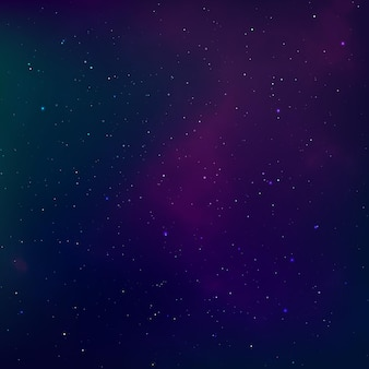 Kosmische ruimte en melkweg