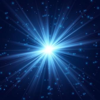Kosmische straling fijn licht