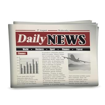Krant vectorillustratie