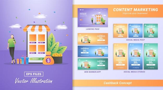 Krijg cashback van online winkelen