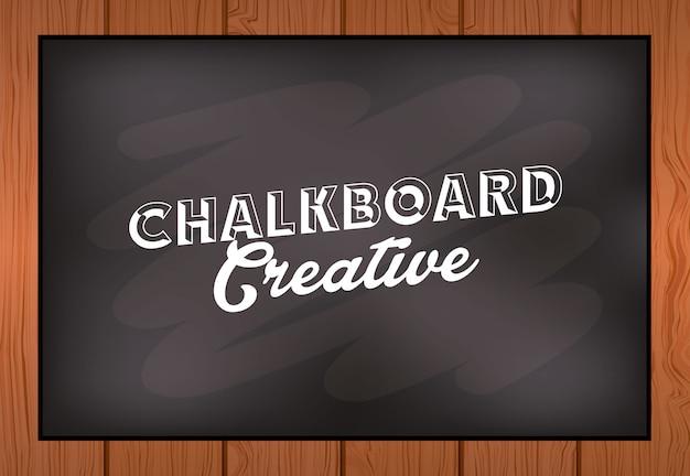 Krijtbord creatief