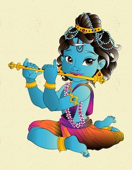 Krishna indu god