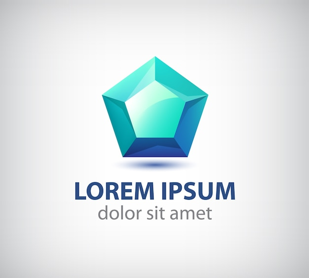 Kristal abstract, logo