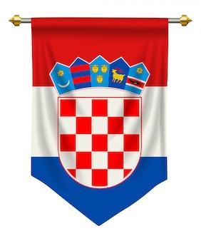 Kroatië wimpel