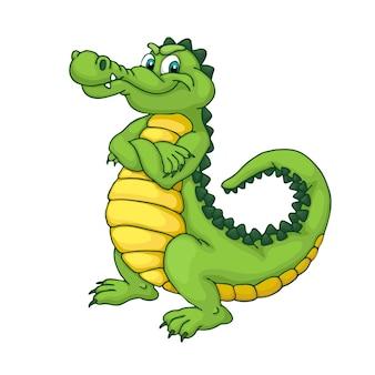 Krokodil illustratie