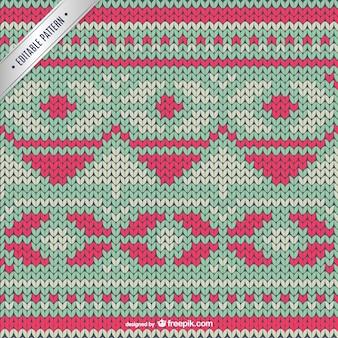 Kruissteek winter patroon
